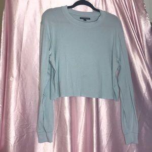 Brandy Melville Light Blue Sweater